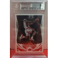 LEBRON JAMES 2004-05 Topps Chrome #23 Graded BGS 9 Cleveland Cavaliers