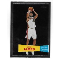 LEBRON JAMES 2007-08 Topps Chrome 1957-58 Variations #23 Cleveland Cavaliers