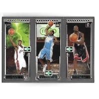 LEBRON JAMES/Carmello ANTHONY/Dwayne WADE 2003-04 Topps Rookie RC Matrix #JAW
