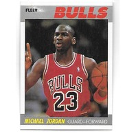 MICHAEL JORDAN 1987-88 Fleer #59 Chicago Bulls