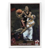 DWYANE WADE 2003-04 Topps Chrome Rookie RC Card #115 Miami Heat