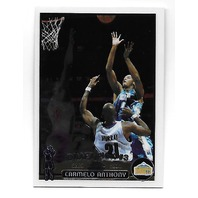 CARMELO ANTHONY 2003-04 Topps Chrome Rookie Card #113 Denver Nuggets