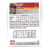 DWYANE WADE 2003-04 Topps Rookie RC Card #225 Miami Heat