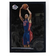 TAYSHAUN PRINCE 2002-03 Topps Chrome Rookie Card #144 Detroit Pistons RC