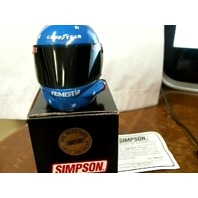 Ted Musgrave Simpson Mini Helmet Primestar NASCAR Limited First Edition NIB