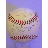 1955 St Louis Cardinals Team Signed Baseball Stan Musial Red Schoendienst Auto