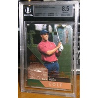 TIGER WOODS 2003 Upper Deck SP Authentic Card Lot Graded Beckett 9 8.5 8 #'d