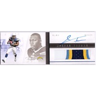 JORDAN TODMAN 2011 Panini Playbook Rookie Card Auto Prime Jersey Patch Book RC