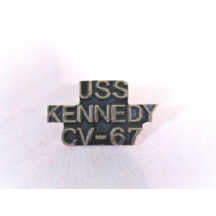 USS Kennedy CV-67 Ship Name Lapel Pin