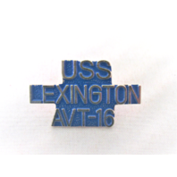 USS Lexington AVT-16 Ship Name Lapel Pin