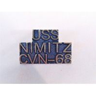 USS Nimitz CVN-68 Ship Name Lapel Pin