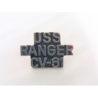 USS Ranger CV-61 Ship Name Lapel Pin