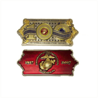 Vanguard MARINE CORPS COIN: USMC QUANTICO 100TH ANNIVERSARY