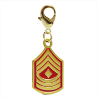 Vanguard PET INSIGNIA RANK CHARM - 1ST SGT