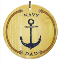 Vanguard ORNAMENT: NAVY DAD