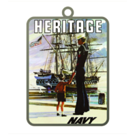 Vanguard ORNAMENT: NAVY POSTER - HERITAGE