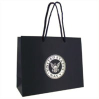 Vanguard GIFT BAG: NAVY BLUE WITH SILVER USN EMBLEM