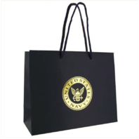 Vanguard GIFT BAG: NAVY BLUE WITH GOLD USN EMBLEM