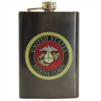 Vanguard MARINE CORPS FLASK: USMC EMBLEM