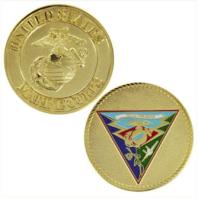 "Vanguard MARINE CORPS COIN: 1 3/4"" MCAS MIRAMAR"