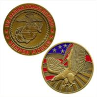 Vanguard MARINE CORPS COIN: UNITED STATES MARINE CORPS RETIRED