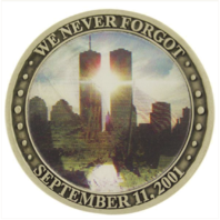 Vanguard COIN: WE NEVER FORGOT SEPTEMBER 11, 2001