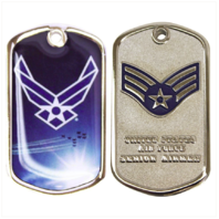 Vanguard AIR FORCE COIN: SENIOR AIRMAN