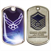 Vanguard AIR FORCE COIN: MASTER SERGEANT
