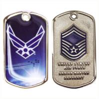 Vanguard AIR FORCE COIN: SENIOR MASTER SERGEANT