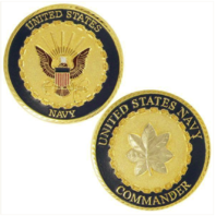 Vanguard NAVY COIN: COMMANDER
