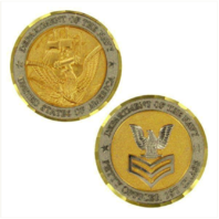 Vanguard NAVY COIN: E6 PETTY OFFICER FIRST CLASS
