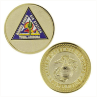 Vanguard MARINE CORPS COIN: MARINE CORPS AIR STATION YUMA, ARIZONA