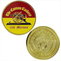 Vanguard MARINE CORPS COIN: 11TH MARINES CANNON COCKERS