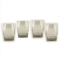 Vanguard COAST GUARD GLASSWARE: SET OF 4 GLASSES