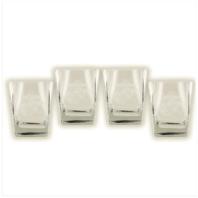 Vanguard MARINE CORPS GLASSWARE: SET OF 4 GLASSES