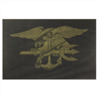 Vanguard BEACH TOWEL WITH NAVY SPECIAL WARFARE (SEAL) EMBLEM