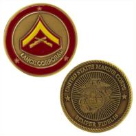 Vanguard MARINE CORPS COIN: LANCE CORPORAL