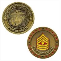 Vanguard MARINE CORPS COIN: FIRST SERGEANT