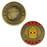 Vanguard MARINE CORPS COIN: MASTER GUNNERY SERGEANT