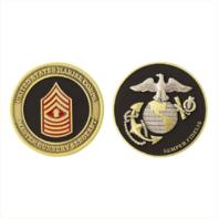 """Vanguard MARINE CORPS COIN: MASTER GUNNERY SERGEANT 1.75"""""""