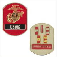 Vanguard MARINE CORPS COIN: WARRANT OFFICER