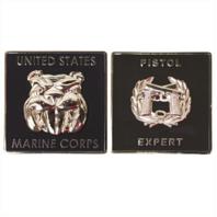 "Vanguard MARINE CORPS COIN: PISTOL EXPERT 1.75"""