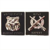 "Vanguard MARINE CORPS COIN: RIFLE EXPERT 1.75"""