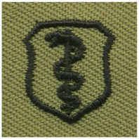 Vanguard AIR FORCE EMBROIDERED BADGE: PHYSICIAN - ABU