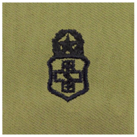 Vanguard AIR FORCE EMBROIDERED BADGE: MEDICAL TECHNICIAN: CHIEF - ABU