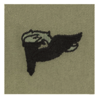 Vanguard ARMY EMBROIDERED BADGE: PATHFINDER EMBROIDERED WITH BLACK THREAD ON ABU
