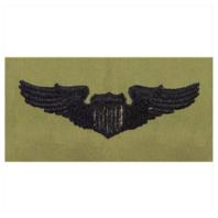 Vanguard AIR FORCE EMBROIDERED BADGE: PILOT - ABU