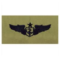 Vanguard AIR FORCE EMBROIDERED BADGE: FLIGHT NURSE: SENIOR - ABU