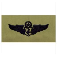 Vanguard AIR FORCE EMBROIDERED BADGE: FLIGHT NURSE: CHIEF - ABU