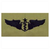 Vanguard AIR FORCE EMBROIDERED BADGE: FLIGHT SURGEON: SENIOR - ABU